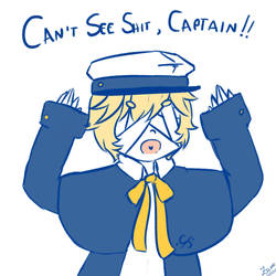 Image result for can't see shit captain