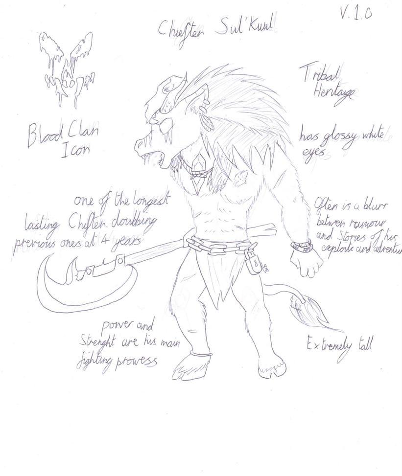 Chieftain Sul'Kuul by Tracker-Fox