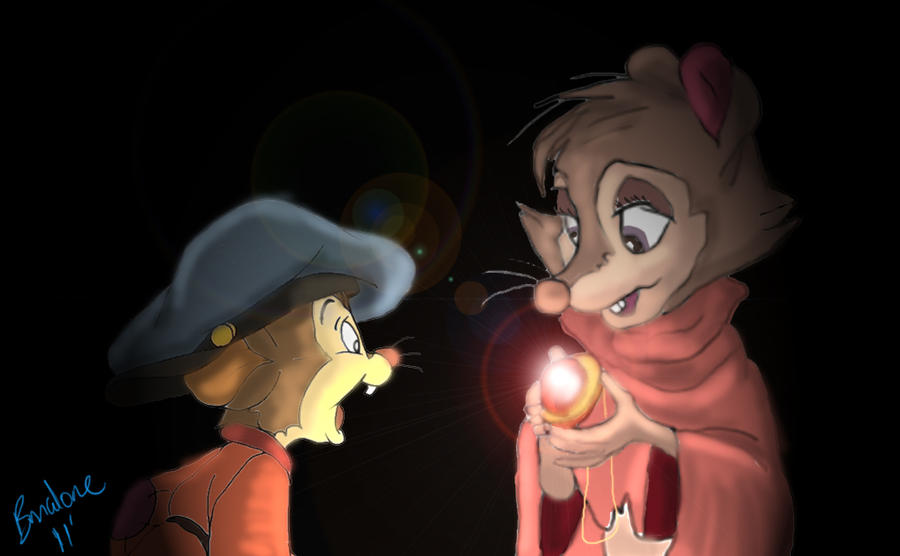 Mrs. Brisby and Fievel by The-B-Meister on DeviantArt