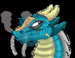 Blu Dragon (Art Trade)