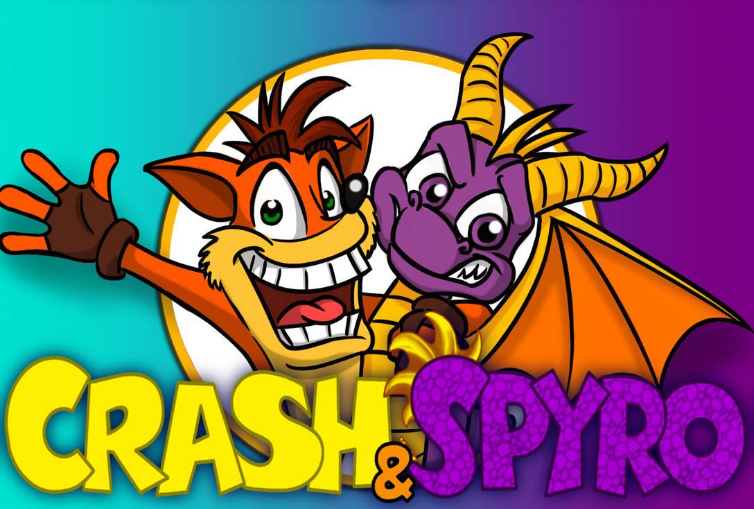 Crash and Spyro (logo)