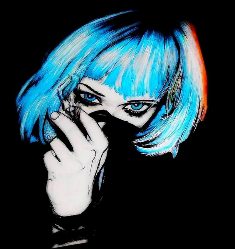 Alice Glass  - Crime wave by wolfnsheepzclothn