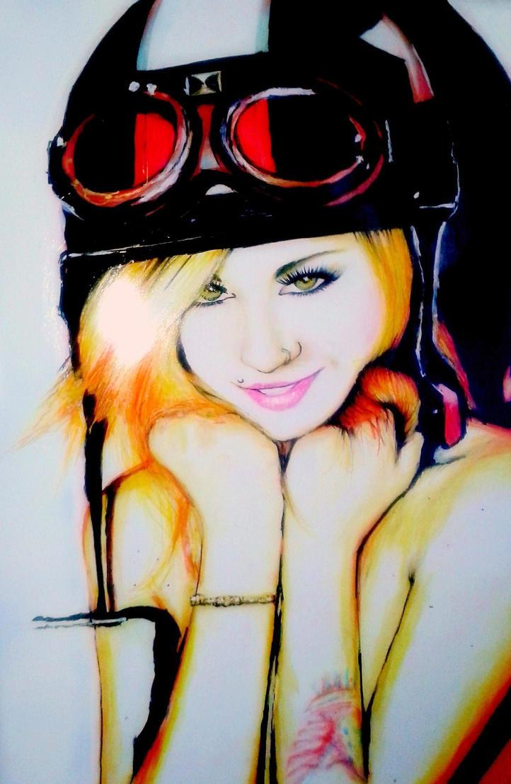Natasha K. - Ready to Ride by wolfnsheepzclothn