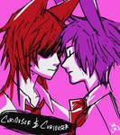 [doodle] Foxy x Bonnie