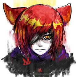 Kid Foxy by SirMei