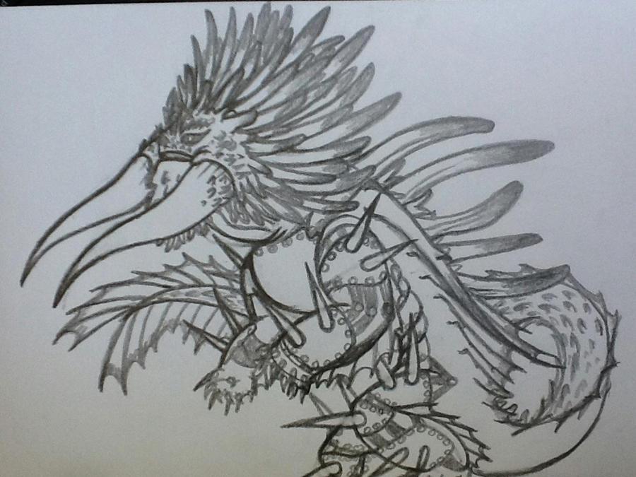 how to draw dragon priest armour