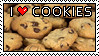 I Love Cookies stamp - LS87 by theCookieClub
