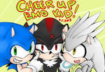 Sonic, Shadow, Silver: Cheer Up Emo Kid