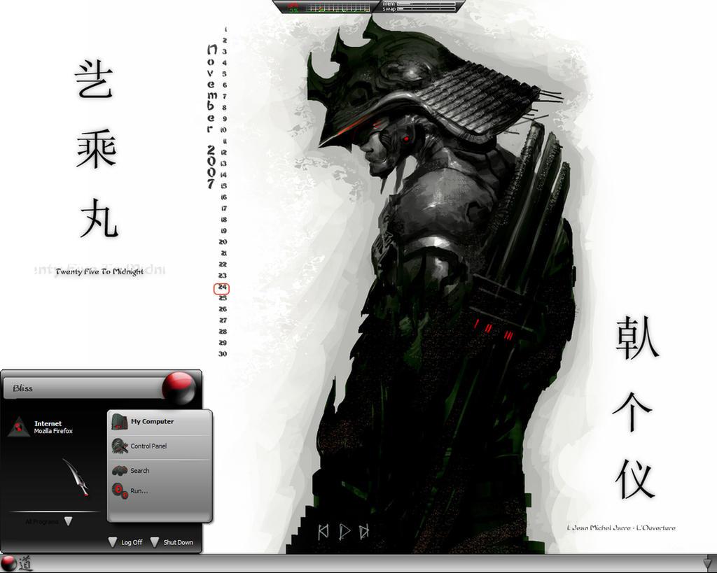 Samurai Me by scubabliss