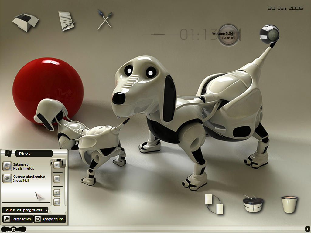 Robo Dogs by scubabliss