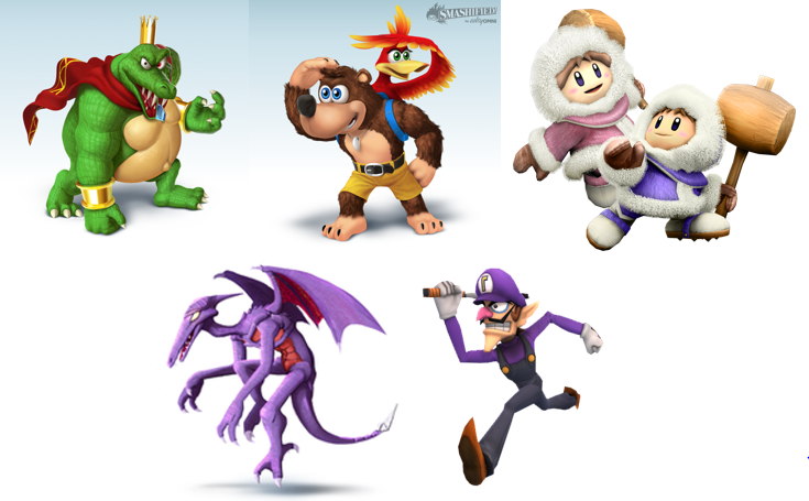 Dlc Characters Would Like Ssb