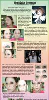 Simple Jrock Makeup .Tutorial. by OreoSpice