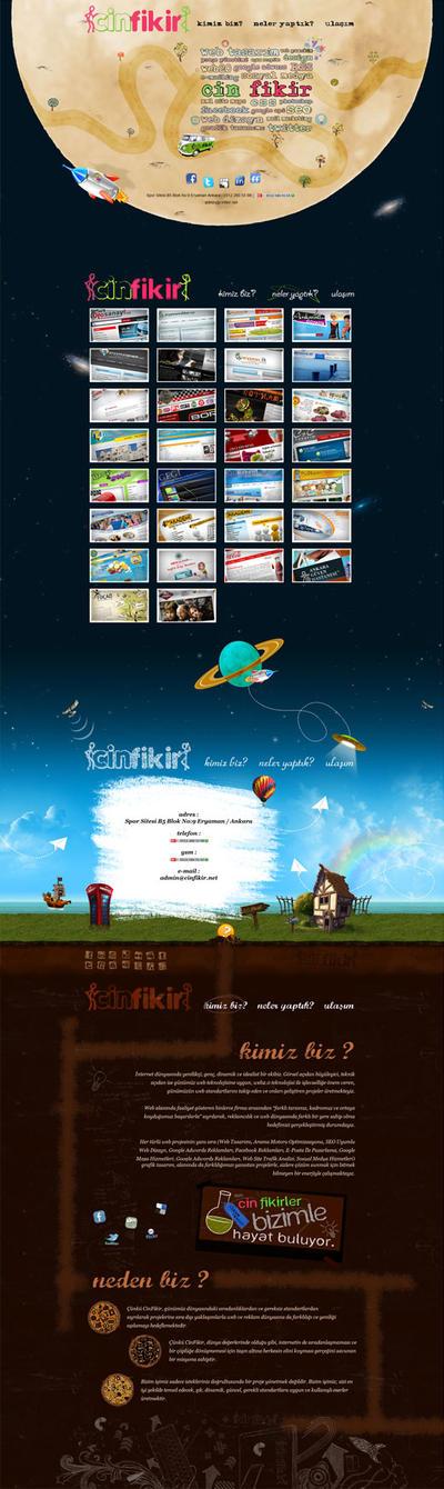 CinFikir.net Yeni Web Sitesi by CinFikirWeb