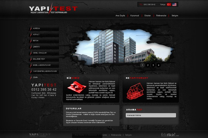 Yapi Test Ekipmanlari by CinFikirWeb