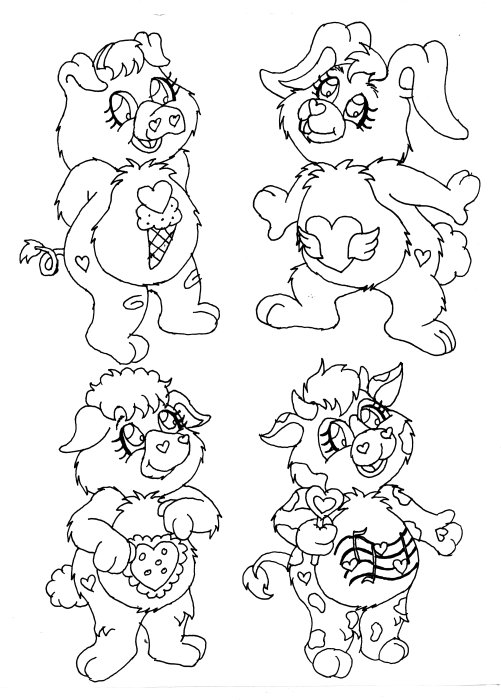 carebear cousin coloring pages - photo#3