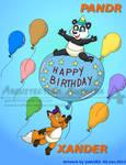 Commission for Pandr Panda Colour