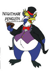 Nightmare Penguin Color by gato303co