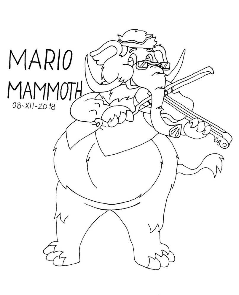 Mario Mammoth by gato303co