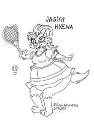 Jasiri Hyena by gato303co