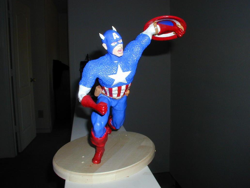 Captain America by DLPancake