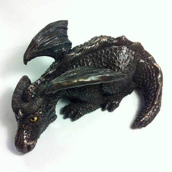 Sorrowful, The Dragon by DLPancake