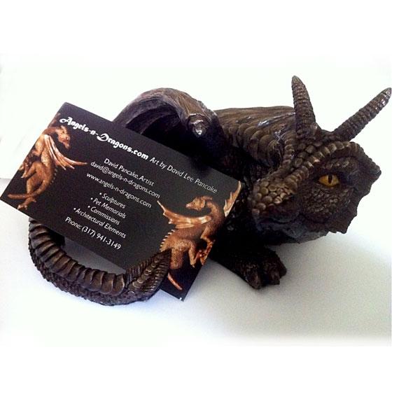 Dragon Business Card Holder by DLPancake