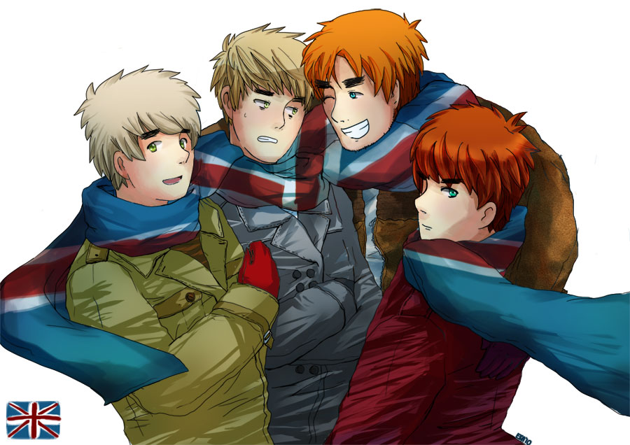 APH The Uk BROS By HoneyHamster On DeviantArt