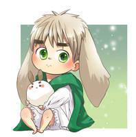 APH: Bunnyrisu by HoneyHamster