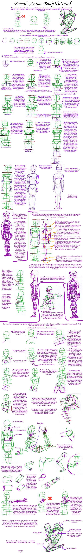 Female Anime Body Tutorial by my-star-seeker