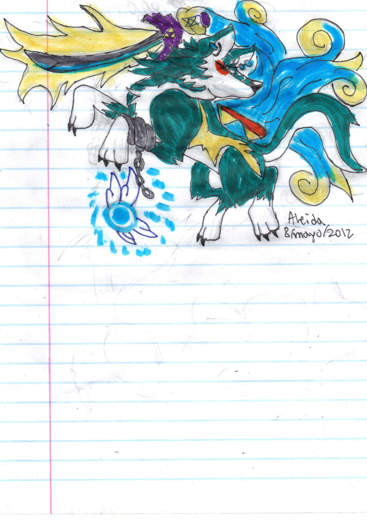 Okami Wolf Link sketch by GIRLYGAMER1998Wolf Link And Okami