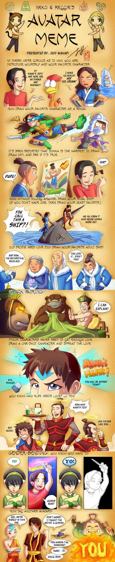 Avatar The Last Airbender Meme by Jeff-Mahadi