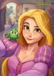 Rapunzel's Selfie