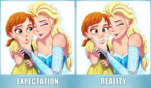Elsanna Expectation vs Reality