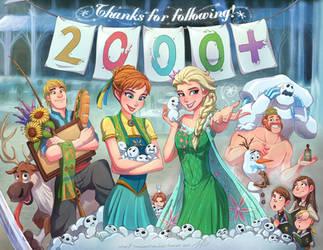 2000 Followers on Tumblr