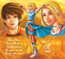 Leslie In The Wind 4 Hikaru by Jeff-Mahadi