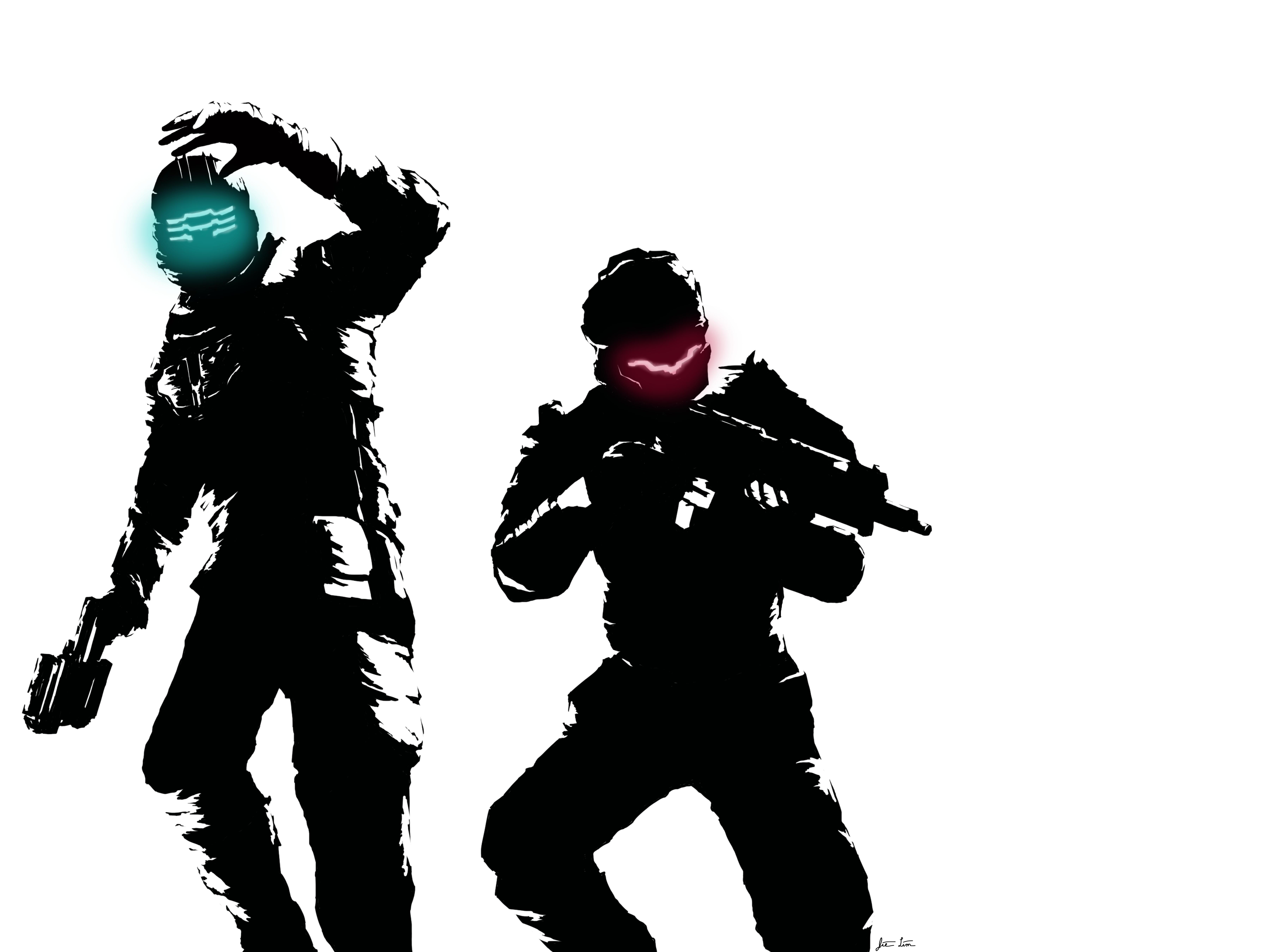 Dead Space 3 Wallpaper V1 by AsphaltEvidence on DeviantArt