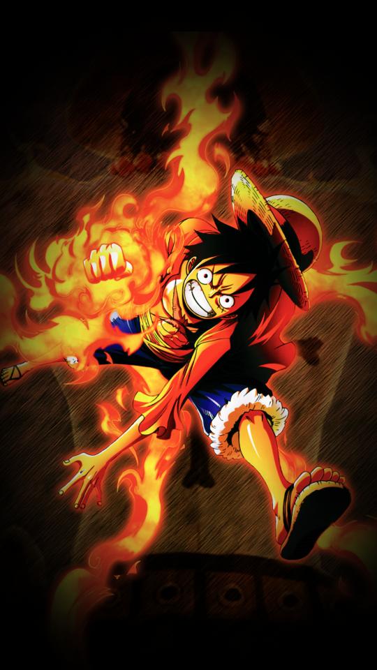 Luffy Wallpaper By Dark King Ace On Deviantart