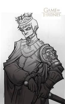 Game of Thrones: Joffrey Baratheon (sketch)