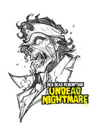 Red Dead Redemption: Undead Nightmare (sketch) by Bing-Ratnapala