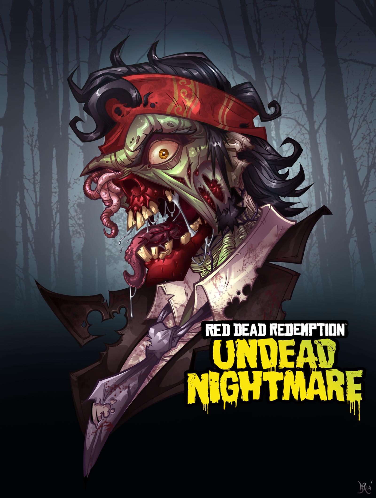 Red Dead Redemption Undead Nightmare By Bing Ratnapala On Deviantart