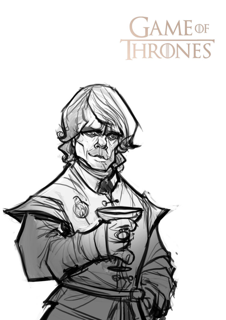 Game of Thrones: Tyrion Lannister (sketch) by Bing-Ratnapala on ...