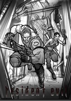 Resident Evil 5 (sketch)