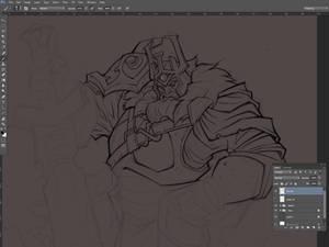Dota 2: Wraith King (wip2)
