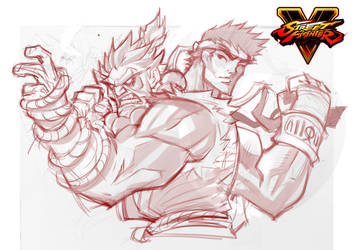 Street Fighter WIP