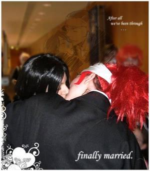 The Marriage II - The kiss