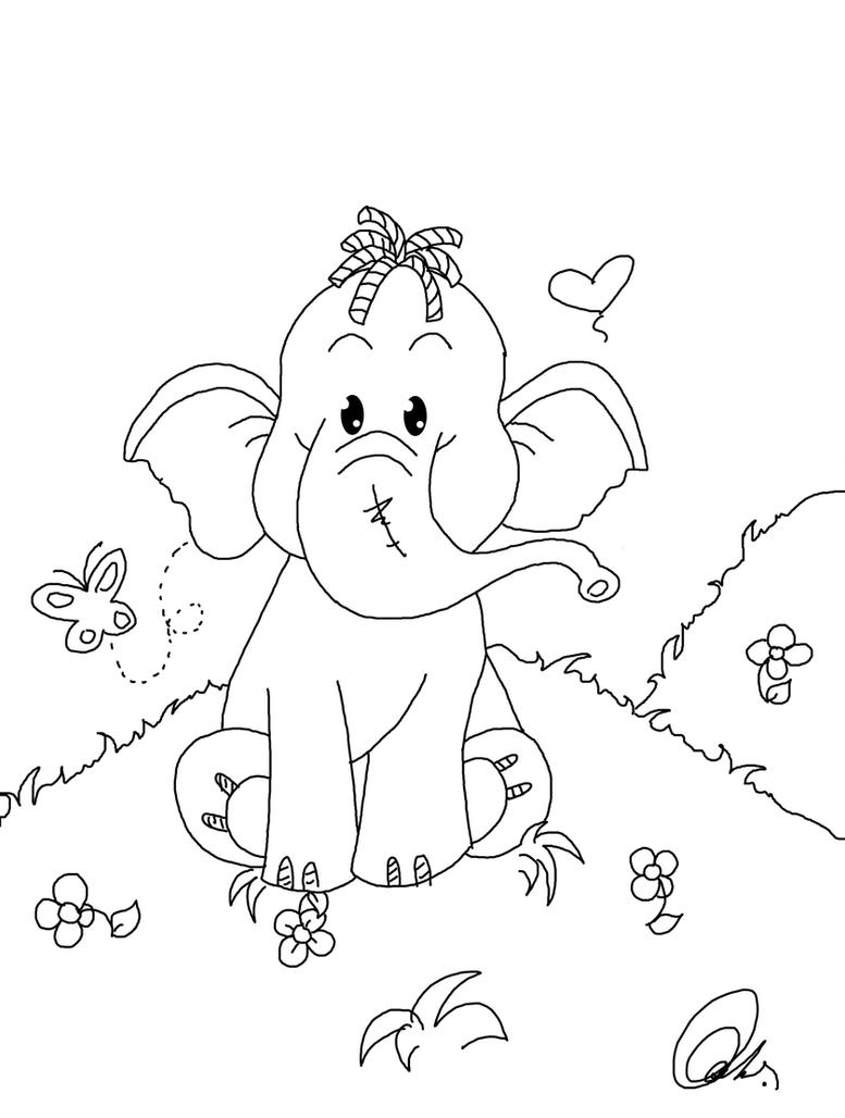 heffalump coloring pages - photo#10
