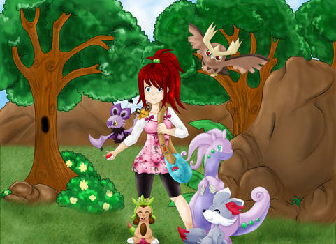 Pokemon Trainer - x and y