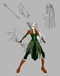 Elven Archer WIP