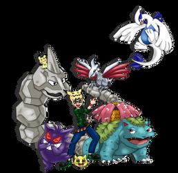 Pokemon Trainer Rein Coloured