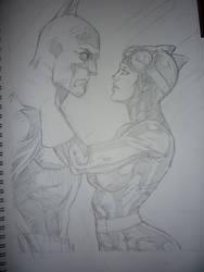 Batman x Catwoman 2 by franganesques
